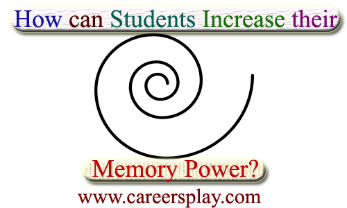 How can students increase their memory power?