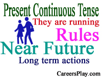 Present Continuous Tense Rules