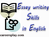 Essay writing skills in English