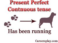 What is Present perfect continuous tense, rules and examples