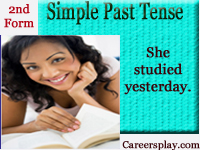 What is simple past tense, rules and its uses with examples