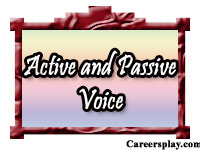 Active and passive voice, its worksheets, rules and examples
