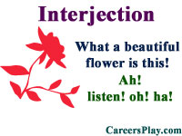 What is an interjection, kinds and list with examples