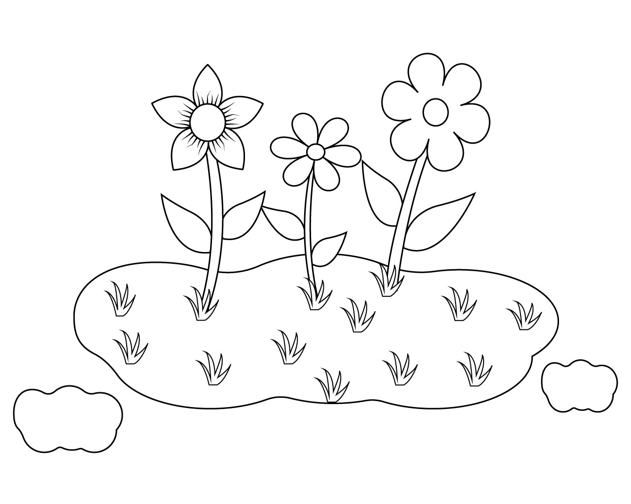 Cute girl and flower coloring pages | Premium Vector | 1024x1280