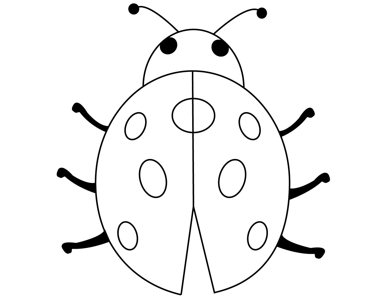 FREE Ladybug Coloring Pages to Print Out and Color! | 1024x1280