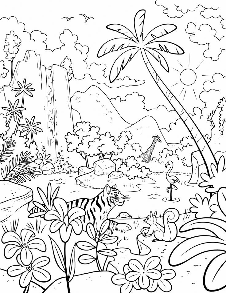 Summer Coloring Pages For Adults Free Printable - All Round Hobby